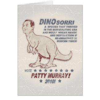 Patty Murray v Dino Sorri Carte De Vœux
