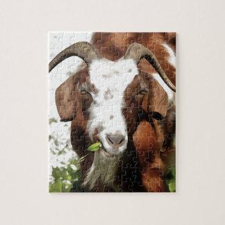 Pâturage à cornes de chèvre puzzle