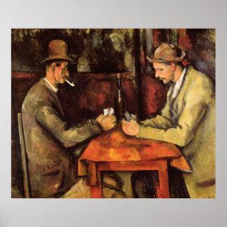 PAUL CEZANNE - Les joueurs de carte 1894