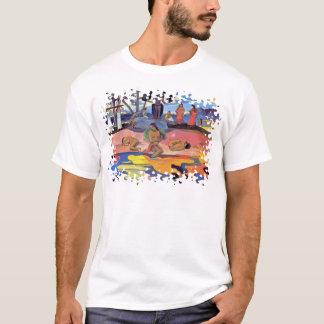 Paul Gauguin - jour des dieux - peinture de T-shirt