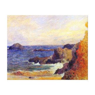 Paul Gauguin - peinture rocheuse de beaux-arts de Toile