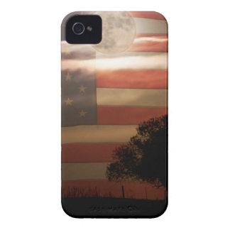 Pays américain Supermoon Étui iPhone 4