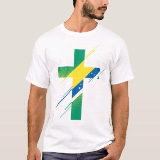 Pays et T-shirt des hommes de la croyance |