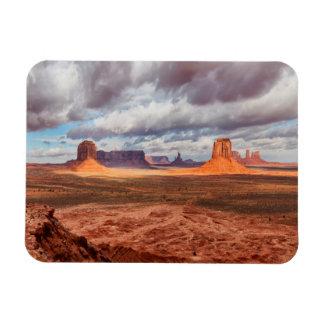 Paysage de vallée de monument, AZ Magnet Flexible