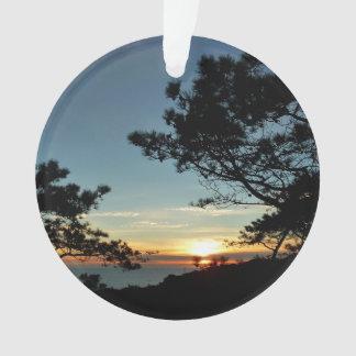 Paysage du coucher du soleil III la Californie de