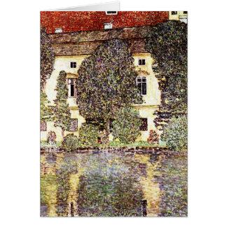 Paysage frais - Gustav Klimt Carte