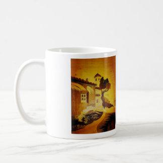 Paysage Reproduction de Marqueterie italienne 2 Mug