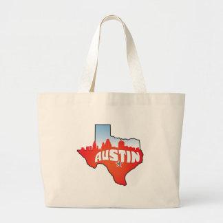 Paysage urbain d'Austin le Texas Grand Sac