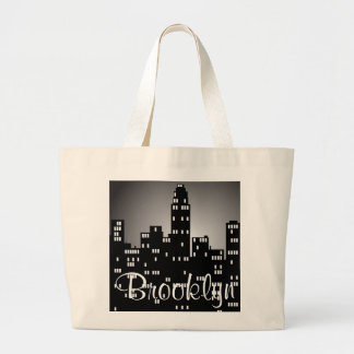 Paysage urbain de Brooklyn Sac En Toile Jumbo