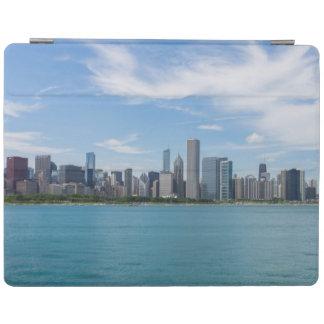 Paysage urbain de jour de Chicago Protection iPad