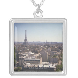 Paysage urbain de Paris, Paris, France Collier