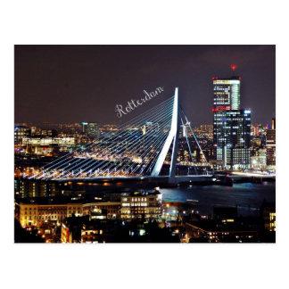 Paysage urbain de Rotterdam Carte Postale