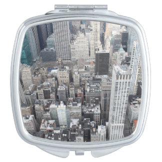 Paysage urbain - miroir compact