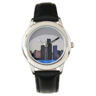 Paysage urbain montres