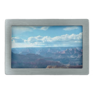 Paysages américains de gammes de montagne de boucle de ceinture rectangulaire