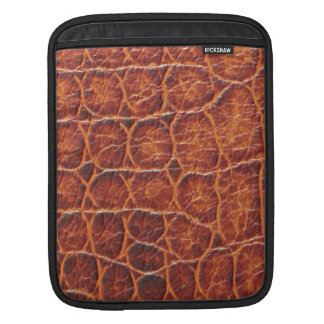 Peau de crocodile poches pour iPad