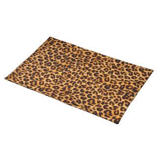 Peau de guépard set de table