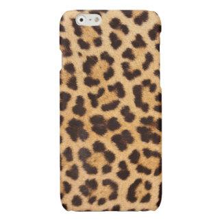 Peau de léopard (cas brillant de finition d'iPhone