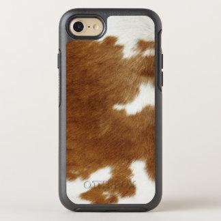 Peau de vache coque OtterBox symmetry iPhone 8/7