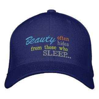 Peaux de beauté de casquette de dormeurs casquettes de baseball brodées