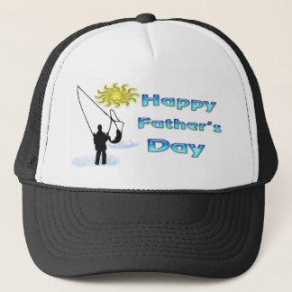 Pêche - casquette heureux de fête des pères