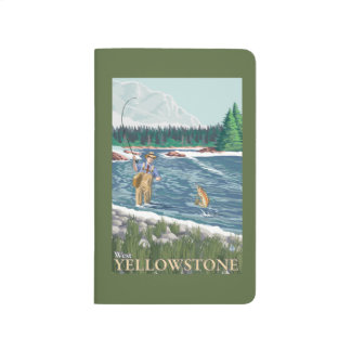 Pêcheur de mouche - Yellowstone occidental, Carnet De Poche