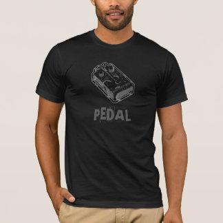 PÉDALE de déformation - noir et gris affligés T-shirt