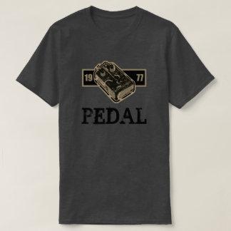 Pédale de déformation ton 1977 noir et de t-shirt