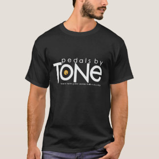 Pédales par le T-shirt de logo de ton