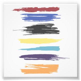 Peignez la couleur abstraite artistique de courses photographie