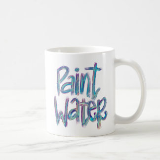 Peignez la tasse du cadeau   d'artiste de l'eau  