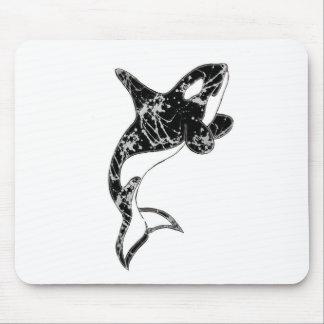 Peignez l'art d'orque d'éclaboussure tapis de souris