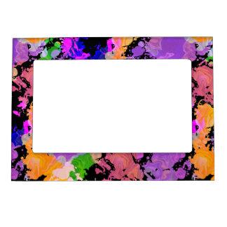 Peignez le cadre magnétique de photo de