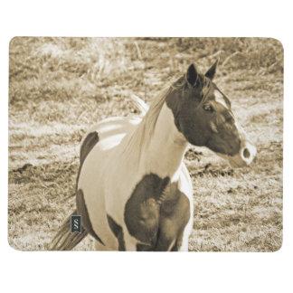 Peignez le poney carnet de poche