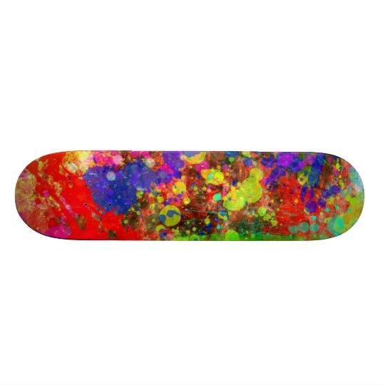 Peignez l'éclaboussure skateboard 19,7 cm