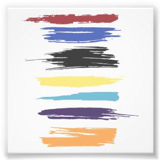 Peignez les filets abstraits artistiques de tirages photo