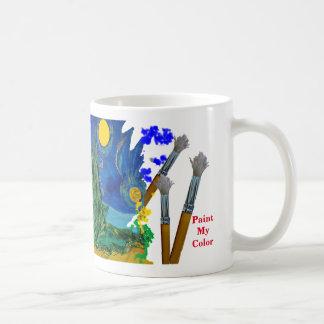 Peignez ma couleur mug