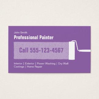 Cartes de visite peintre maison - Videos faites a la maison ...