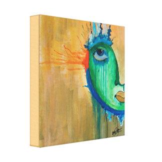 Peinture abstraite de toile