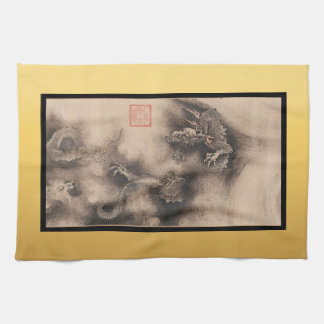 Peinture chinoise pour la serviette 2024 de