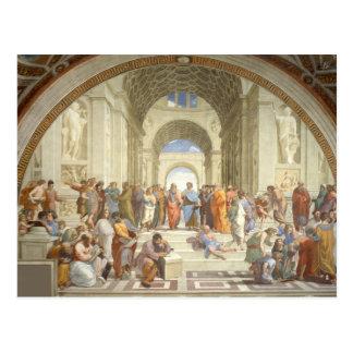 Peinture d oeuvre d art de Raphael Cartes Postales