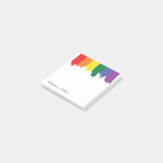 Peinture d'arc-en-ciel de gay pride de LGBT