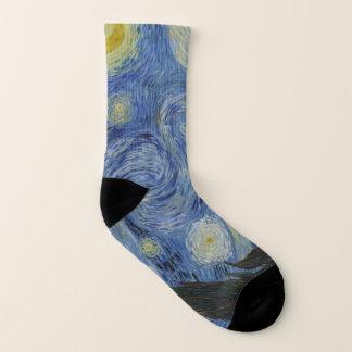 Peinture de beaux-arts de Vincent van Gogh de nuit