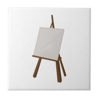 Peinture de chevalet petit carreau carré