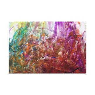 Peinture de doigt toiles