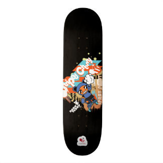 Peinture de jet de nounours de Robo - planche à Mini Skateboard 18,4 Cm
