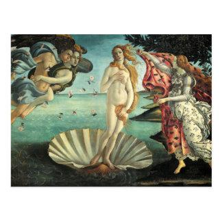 Peinture de la Renaissance de Botticelli Cartes Postales