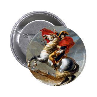 Peinture de Napoleon Bonaparte par Jacques-Louis Badge Rond 5 Cm