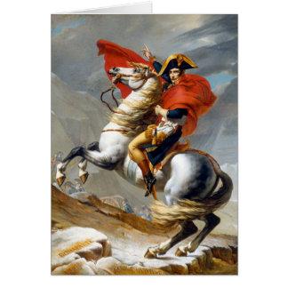 Peinture de Napoleon Bonaparte par Jacques-Louis Carte