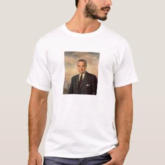 Peinture du Président Lyndon Johnson T-shirt